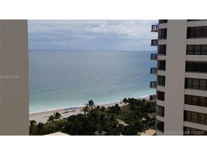 10185 Collins Ave # 1514 Bal Harbour, FL MLS# A10272237