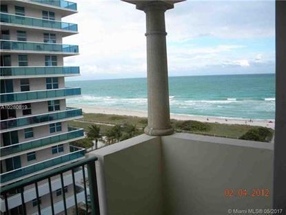 9195 Collins Ave # 911 Surfside, FL MLS# A10280819