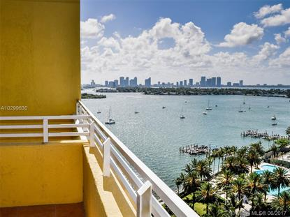 1330 West Ave # 1603 Miami Beach, FL MLS# A10299630