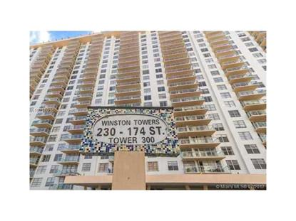 230 174th St # 919 Sunny Isles Beach, FL MLS# A10316916