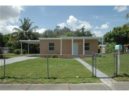 16450 NW 24th Ave Miami Gardens, FL MLS# A10335721