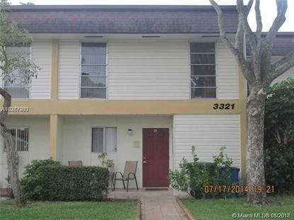 3321 Farragut St  Hollywood, FL MLS# A10367983