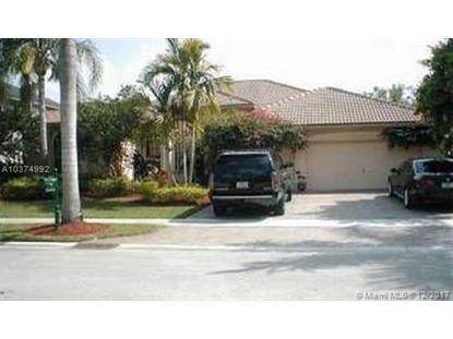 18620 SW 39 ct  Miramar, FL MLS# A10374992