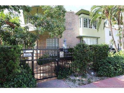 1520 Euclid Ave  Miami Beach, FL MLS# A10387857