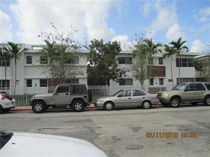 1568 Pennsylvania Ave  Miami Beach, FL MLS# A10391757
