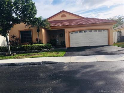13340 NW 13th St  Sunrise, FL MLS# A10416122