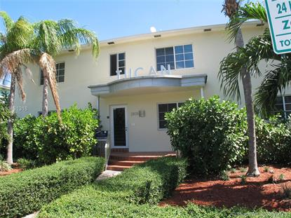 2825 Sheridan Ave  Miami Beach, FL MLS# A10431318
