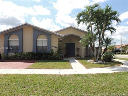 14534 SW 169th Ter  Miami, FL MLS# A10435722