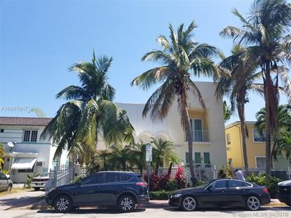 1545 Jefferson Ave  Miami Beach, FL MLS# A10441917