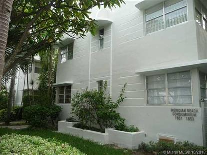 1553 Meridian Ave  Miami Beach, FL MLS# A10449906