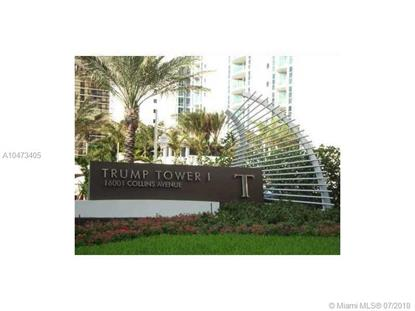 16001 Collins Ave  Sunny Isles Beach, FL MLS# A10473405