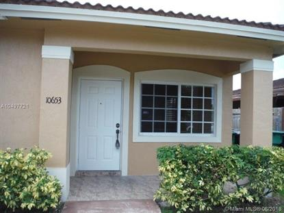 10653 SW 182nd St  Miami, FL MLS# A10497721