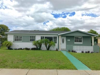 2820 NW 209th Ter  Miami Gardens, FL MLS# A10503107