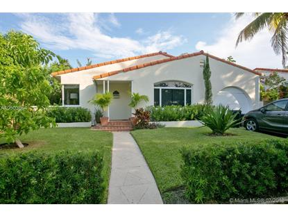 1154 Biarritz Dr  Miami Beach, FL MLS# A10503664
