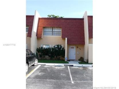 18 Pleasant Hill Ln  Tamarac, FL MLS# A10517778