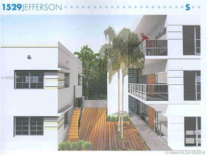 1529 Jefferson Ave  Miami Beach, FL MLS# A10523595