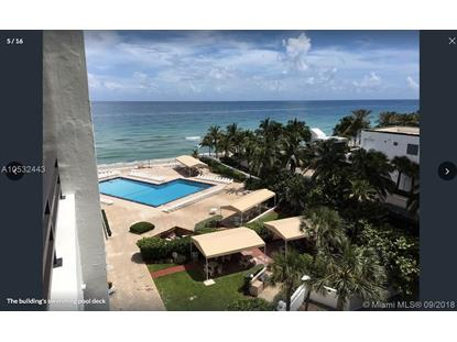 3505 S Ocean Dr  Hollywood, FL MLS# A10532443