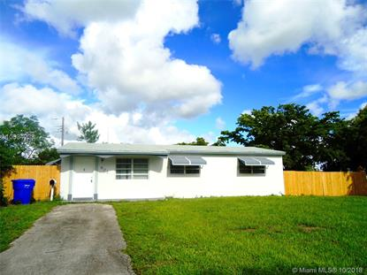 901 N 70th Ter  Hollywood, FL MLS# A10534723