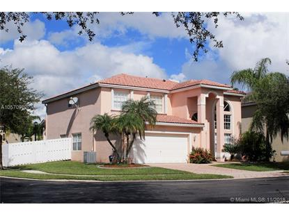 13745 NW 22 Place  Sunrise, FL MLS# A10570962