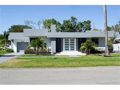 283 NE 107th St  Miami Shores, FL MLS# A10574117