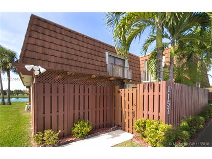1157 SW 118th Terrace  Davie, FL MLS# A10577449