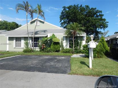 970 SW 111th Way  Davie, FL MLS# A10578086