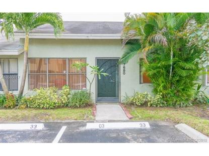 7680 NW 38th Ct  Sunrise, FL MLS# A10580817