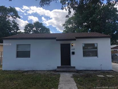 630 48th St  West Palm Beach, FL MLS# A10583219