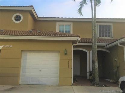 12028 SW 5th Ct  Pembroke Pines, FL MLS# A10583290