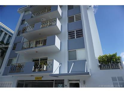 947 E Lenox Ave  Miami Beach, FL MLS# A10583581