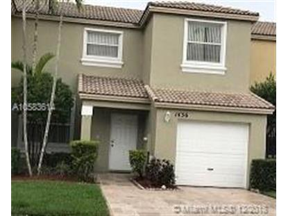 1436 NW 154th Ln  Pembroke Pines, FL MLS# A10583614