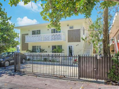 626 Meridian Ave  Miami Beach, FL MLS# A10584075