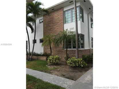 1045 Lenox Ave  Miami Beach, FL MLS# A10584594