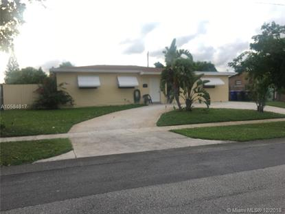 1040 N 73rd Way  Hollywood, FL MLS# A10584817