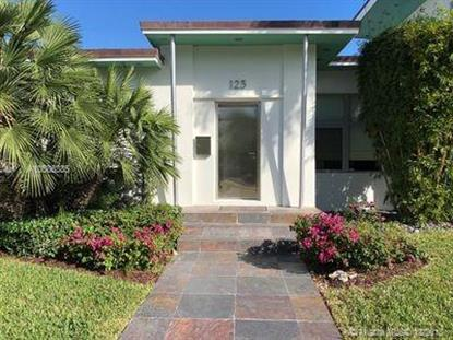 123 W Dilido Dr  Miami Beach, FL MLS# A10586385