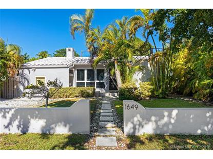 1649 Bay Dr  Miami Beach, FL MLS# A10590441