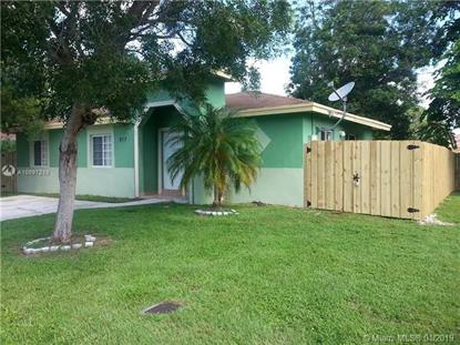 817 SW 7 TE  Florida City, FL MLS# A10597219