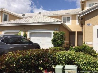 2261 Salerno Cir  Weston, FL MLS# A10597805
