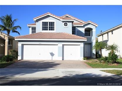 2532 SW 156th Ave  Miramar, FL MLS# A10598998