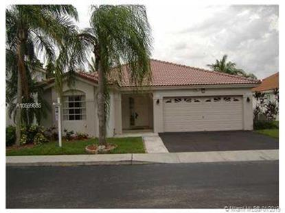 13249 NW 12th Ct  Sunrise, FL MLS# A10599585