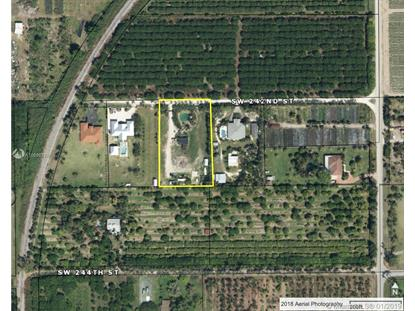 183 SW 242 ST  Homestead, FL MLS# A10599792
