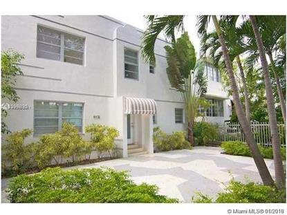928 Jefferson Ave  Miami Beach, FL MLS# A10600041