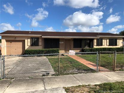 20911 NW 30th Ave  Miami Gardens, FL MLS# A10602036