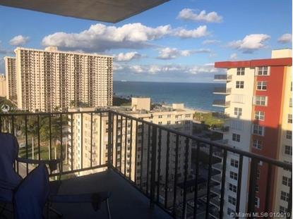 1400 S Ocean Dr  Hollywood, FL MLS# A10602044