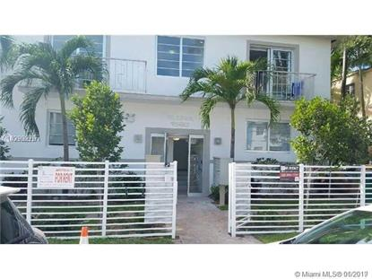 1560 Meridian Ave  Miami Beach, FL MLS# A10602374