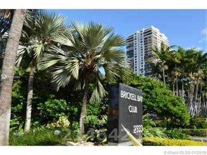 2333 Brickell Ave.  Miami, FL MLS# A10603569