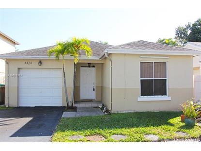 4424 SW 72nd Ter  Davie, FL MLS# A10614319