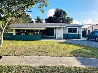 7050 SW 27th St  Miramar, FL MLS# A10616662
