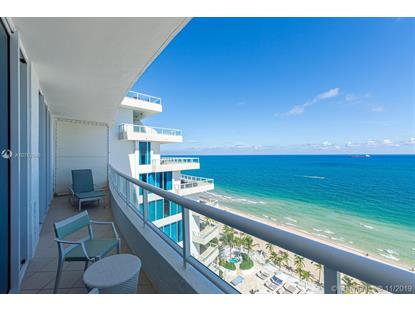 1 N Fort Lauderdale Beach Blvd  Fort Lauderdale, FL MLS# A10752846