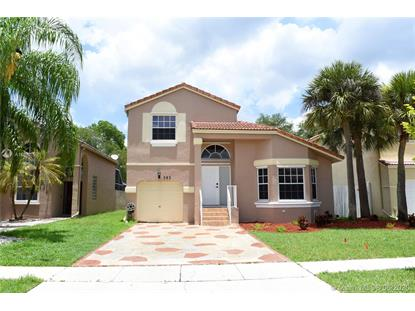 383 NW 152nd Ln  Pembroke Pines, FL MLS# A10881596